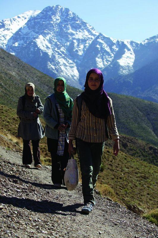 Vado a scuola: una suggestiva immagine tratta dal documentario