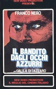 Il bandito dagli occhi azzurri: la locandina del film