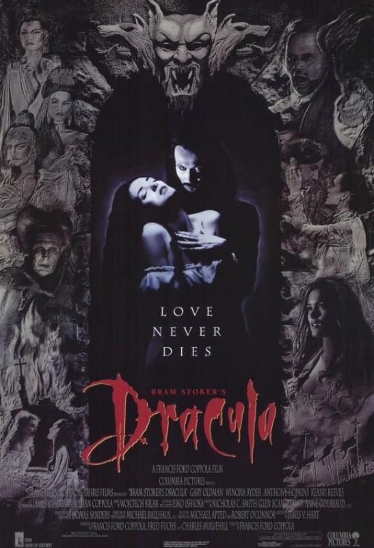 Locandina originale del film Dracula di Bram Stoker