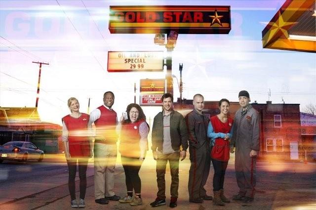 Lucky 7: una foto promozionale del cast della serie
