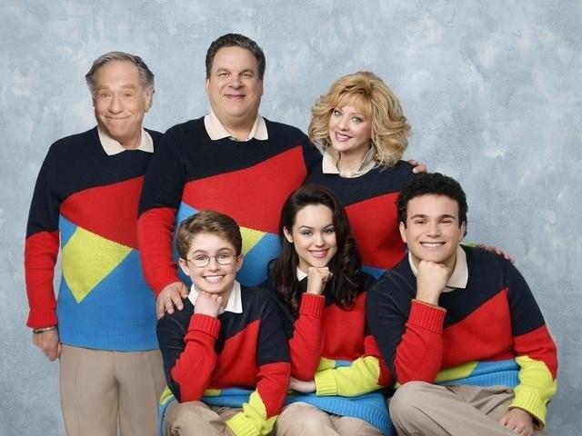 The Goldbergs: una foto promozionale del cast della serie