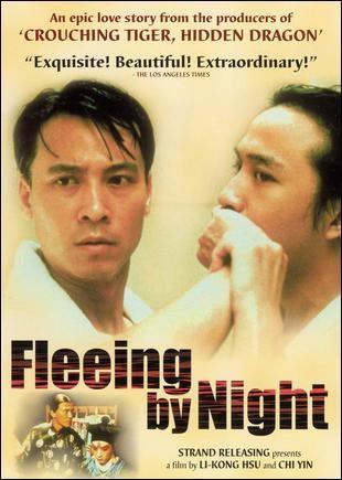 Fuggendo nella notte: la locandina del film