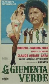 La giumenta verde: la locandina del film