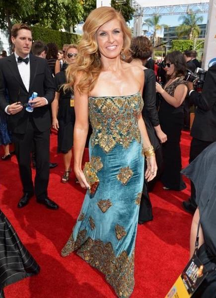 Emmy 2013: Connie Britton sul tappeto rosso