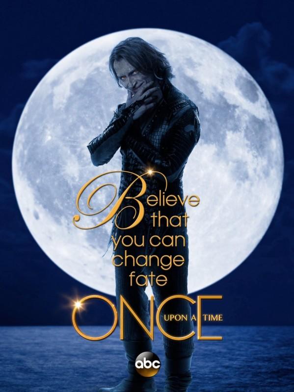 C'era un volta: Robert Carlyle in un poster promozionale della terza stagione