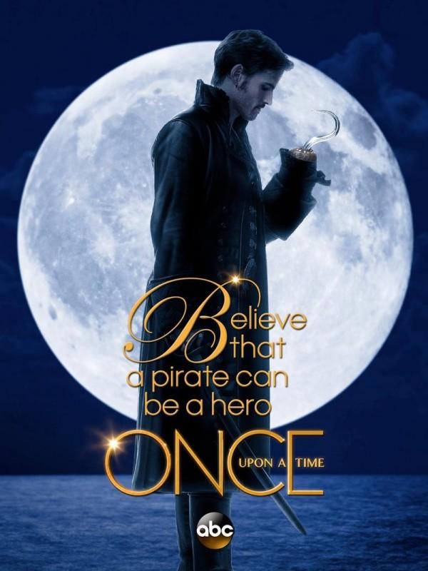 C'era una volta: Colin O'Donoghue in un poster della terza stagione