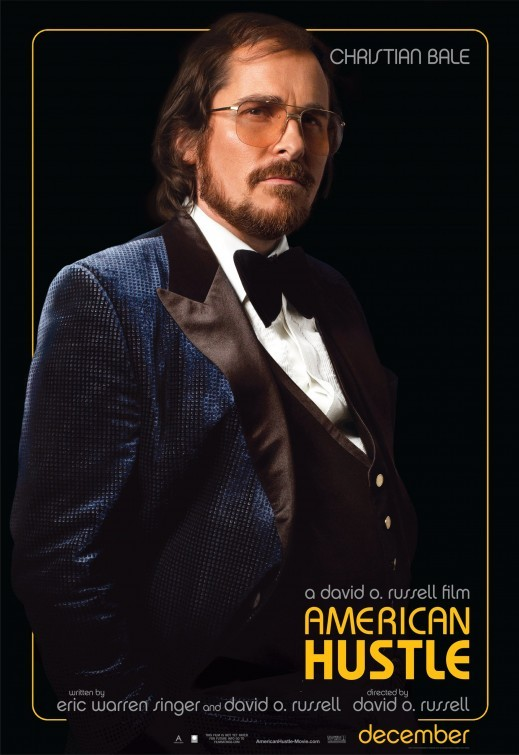 American Hustle: Character poster per Christian Bale