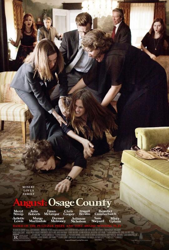 August: Osage County: la nuova movimentata locandina del film