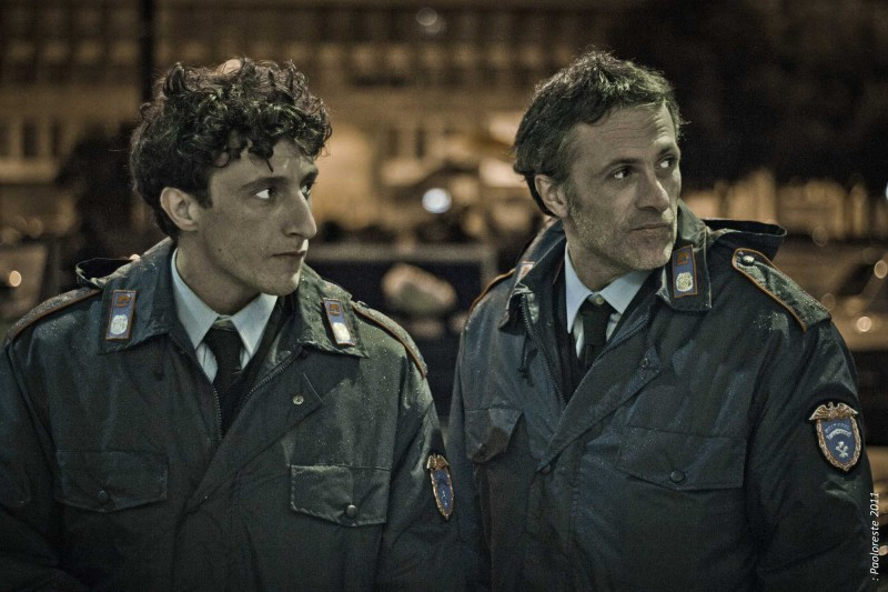 L'ultima foglia: Alfio Sorbello e Fabrizio Ferracane in una scena del film