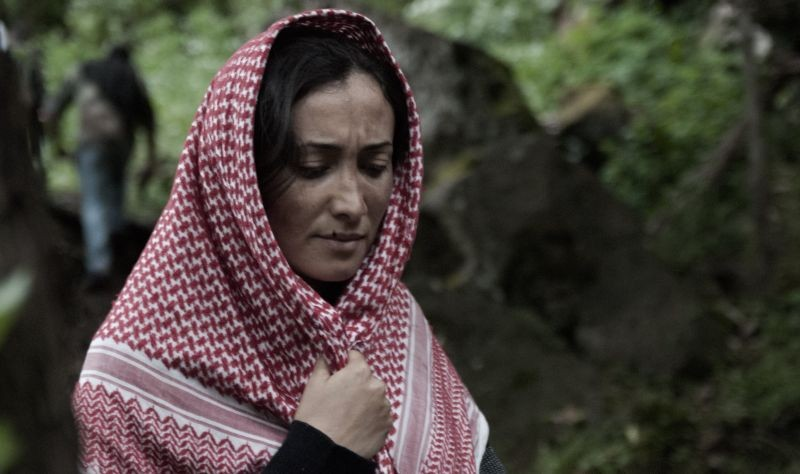 Border: Dana Keilani in un momento del film