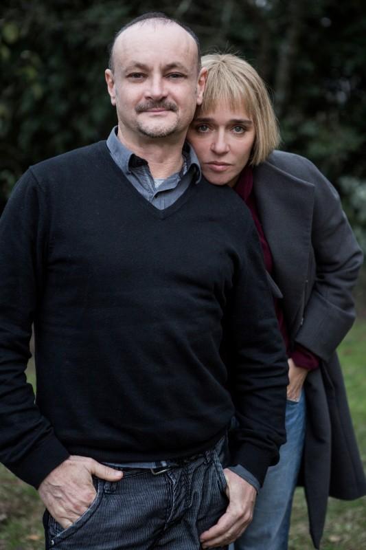 Come il vento: il regista del film Marco Simon Puccioni con Valeria Golino