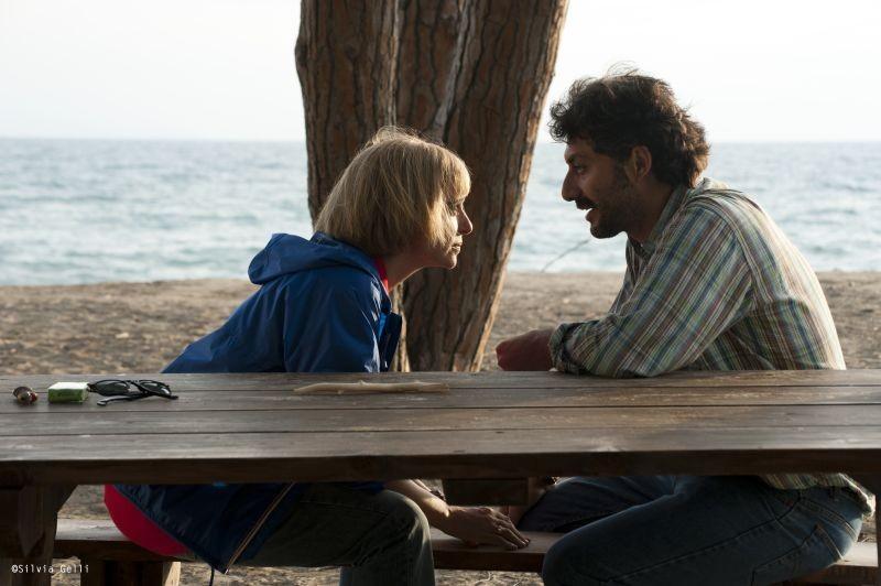 Come il vento: Valeria Golino insieme a Filippo Timi in una scena del film