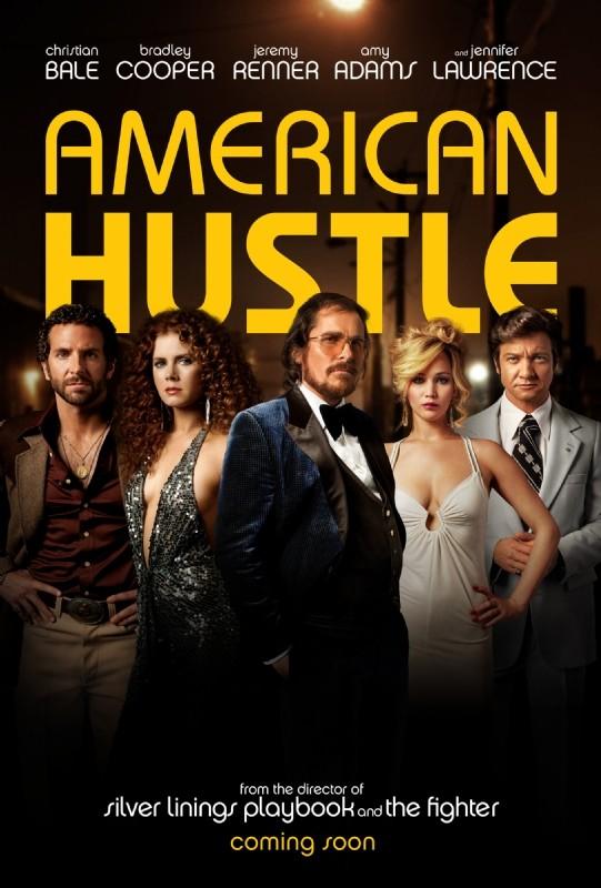 American Hustle: la locandina ufficiale