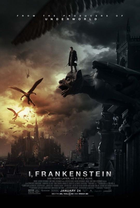 I, Frankenstein -  La locandina ufficiale del film
