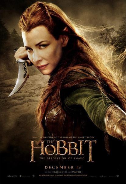 The Hobbit: la desolazione di Smaug - Il character poster di Evangeline Lilly