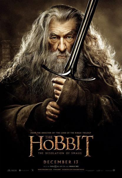 The Hobbit: la desolazione di Smaug - Il character poster di Ian McKellen