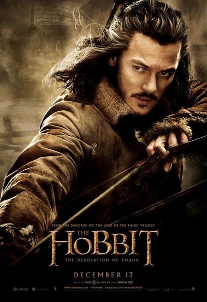 The Hobbit: la desolazione di Smaug - Il character poster di Luke Evans