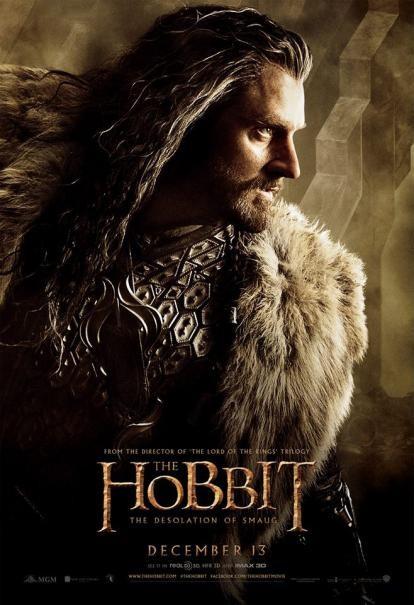 The Hobbit: la desolazione di Smaug - Il character poster di Richard Armitage