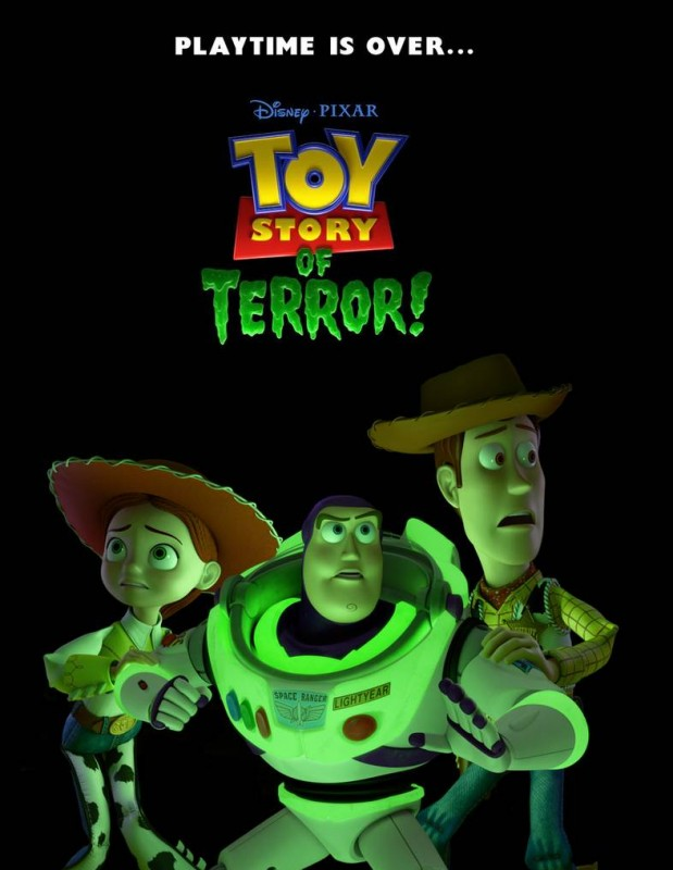 Toy Story of Terror: la locandina del film