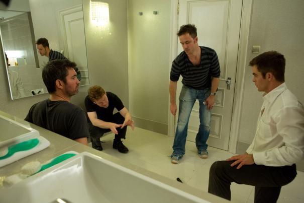 Jack Ryan: Shadow Recruit - Chris Pine sul set insieme alla crew
