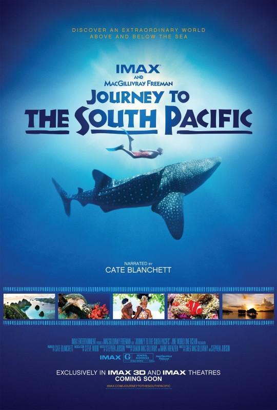 Journey to the South Pacific: la locandina del film