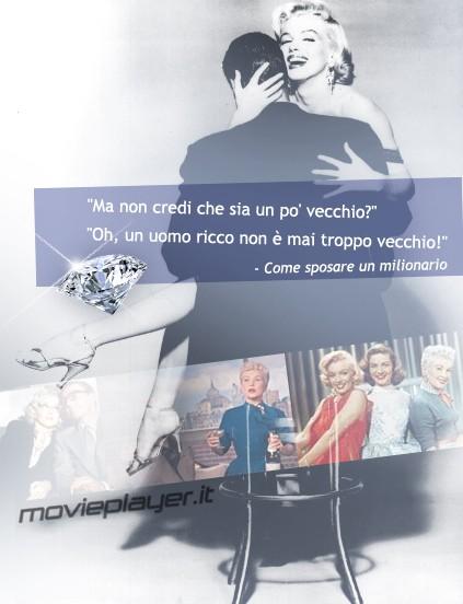 Marilyn Monroe - la nostra e-card del film Come sposare un milionario