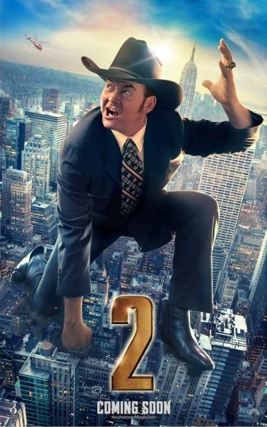 The Anchorman 2: il character poster di David Koechner