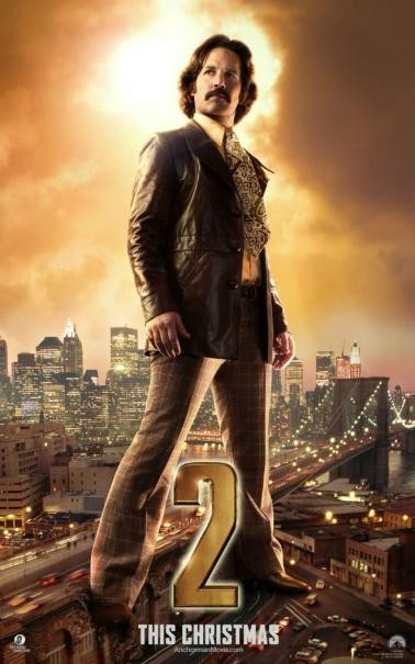 The Anchorman 2: il character poster di Paul Rudd