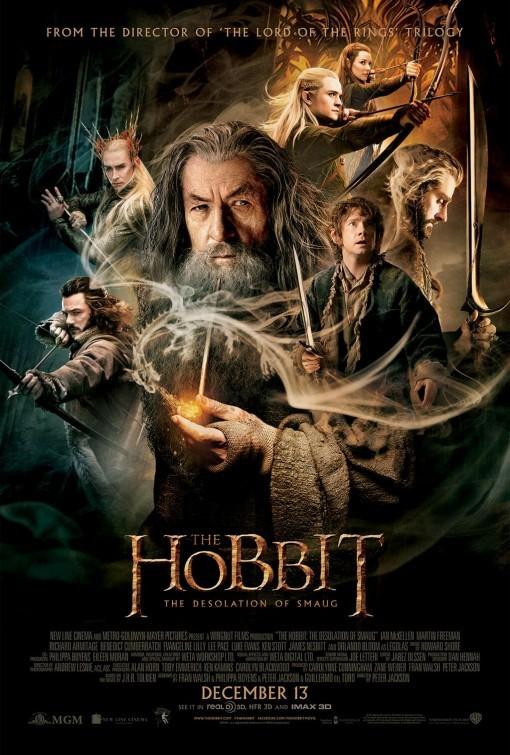 The Hobbit: la desolazione di Smaug: nuovo poster USA