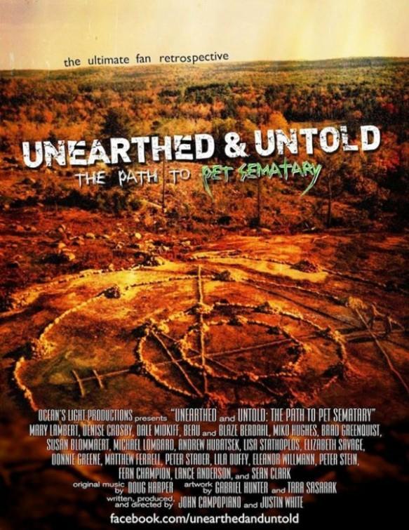 Unearthed & Untold: The Path to Pet Sematary: la locandina del film