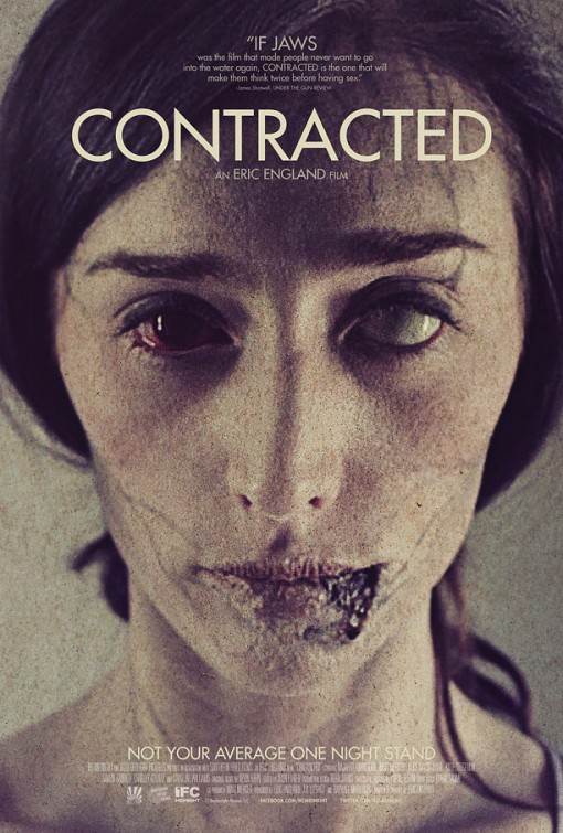Contracted: la locandina del film
