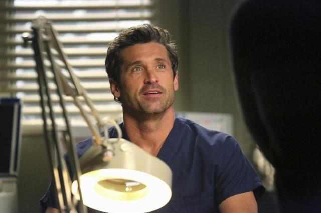 Grey's Anatomy: Patrick Dempsey in una scena dell'episodio Thriller