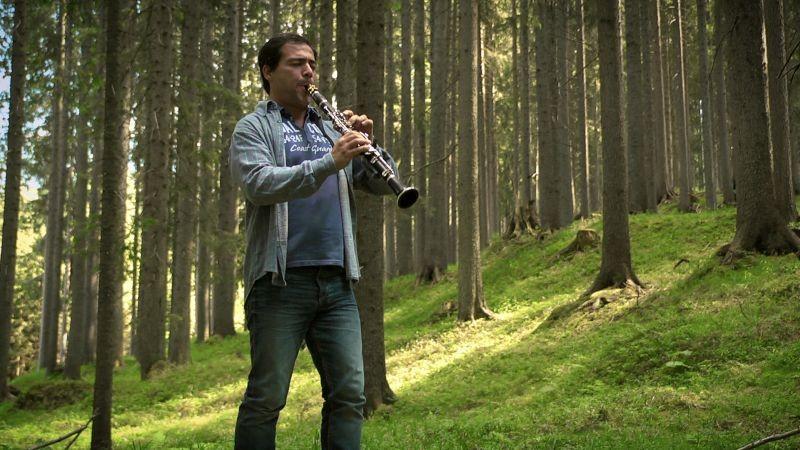 Il carattere italiano: una scena del documentario sulla storia dell'Orchestra Nazionale di Santa Cecilia