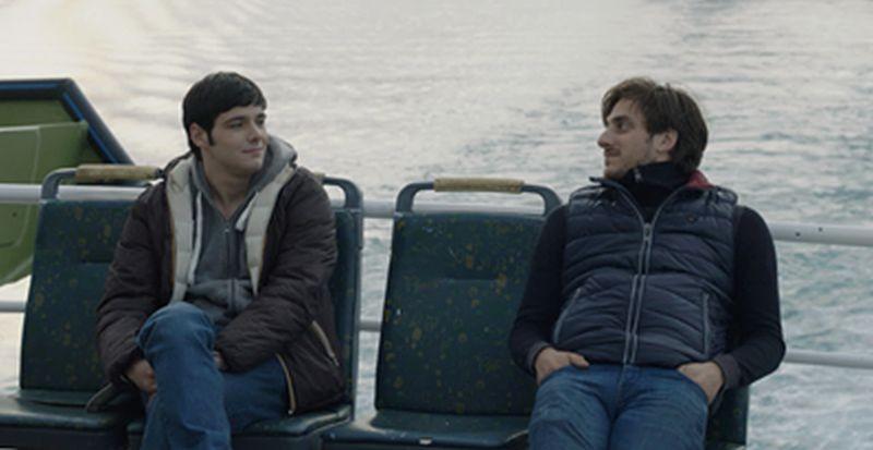 Il mondo fino in fondo: Filippo Scicchitano e Luca Marinelli in una scena