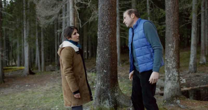Je fai le mort: François Damiens insieme a Géraldine Nakache in una scena