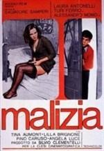 La copertina di Malizia (dvd)