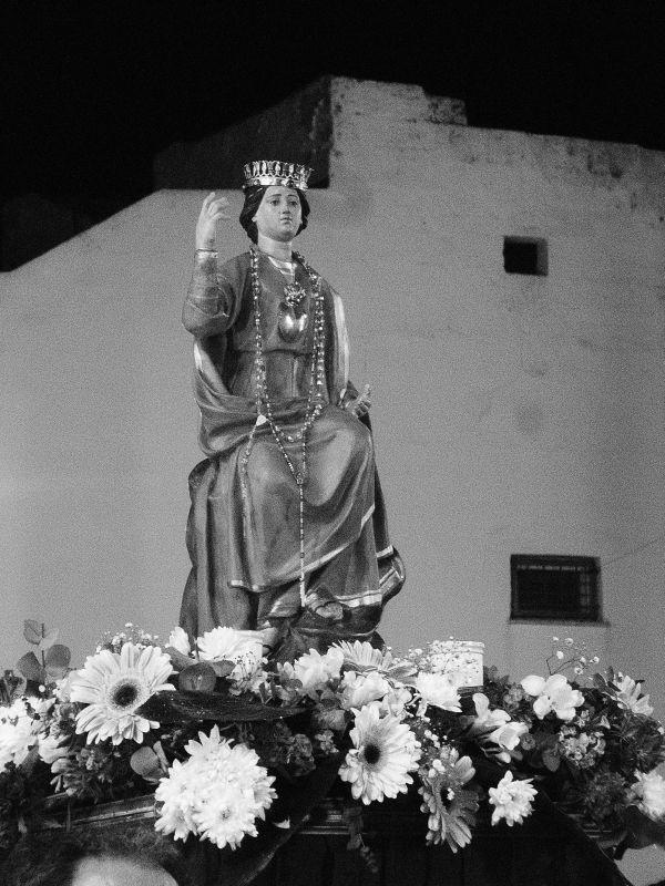 La santa: un'immagine del film