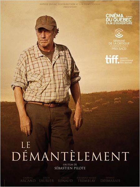 Le démantèlement: la locandina del film