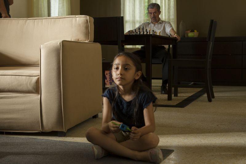 Manto Acuifero: la piccola Zaili Sofia Macias in una scena tratta dal film