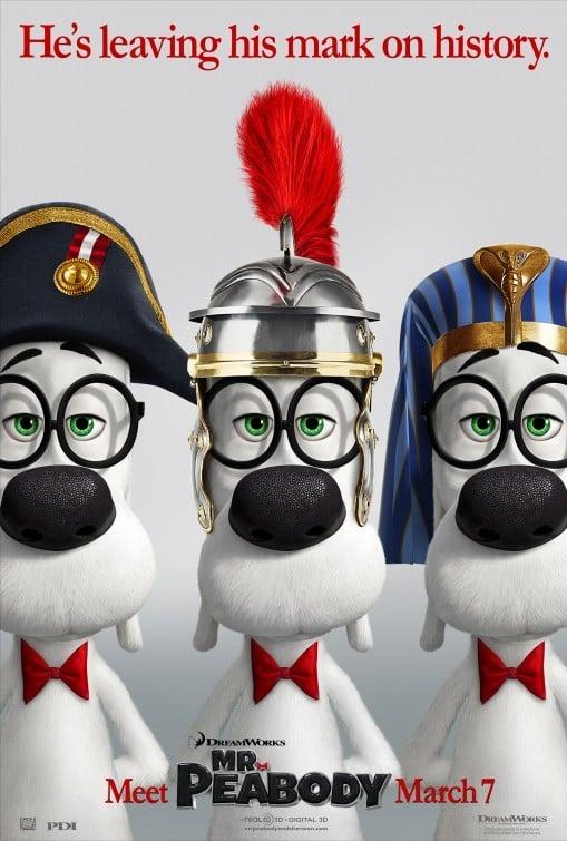 Mr. Peabody & Sherman: nuovo poster
