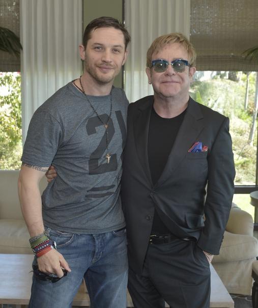 Rocketman: Elton John e il suo alter ego Tom Hardy