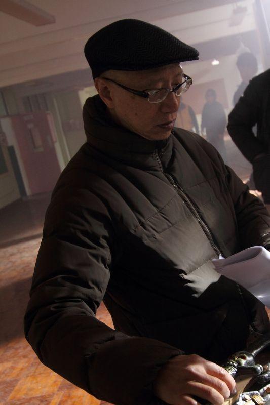 Tales From The Dark: il regista Lawrence Lau in una foto promozionale