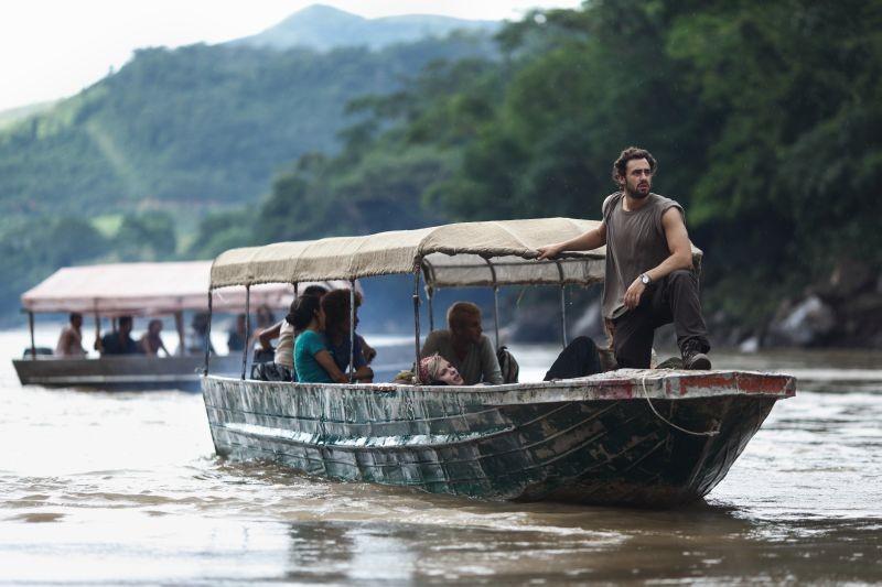 The Green Inferno: Ariel Levy in una scena del film horror