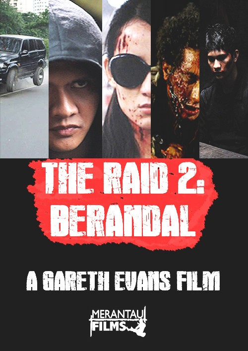 The Raid 2: Berandal: la locandina del film
