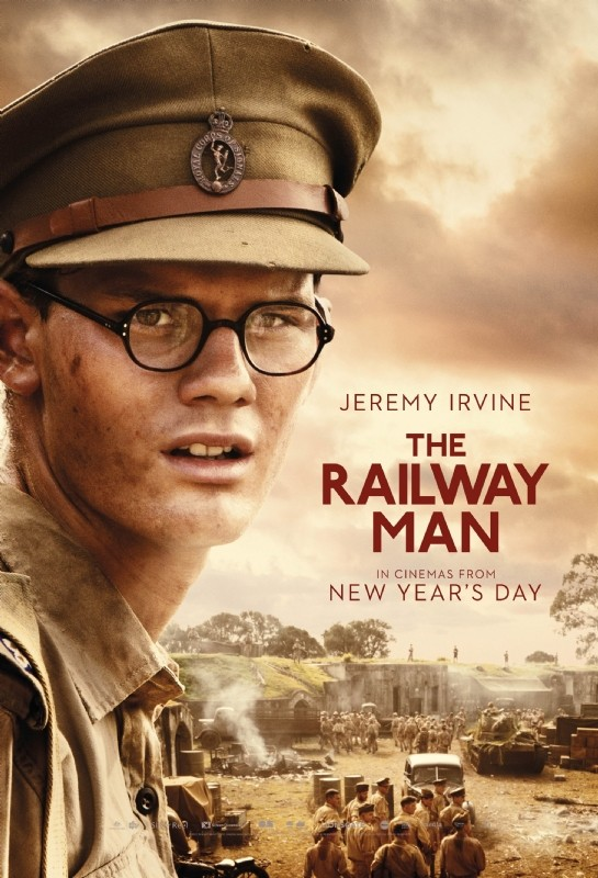 The Railway Man: il character poster di Jeremy Irvine