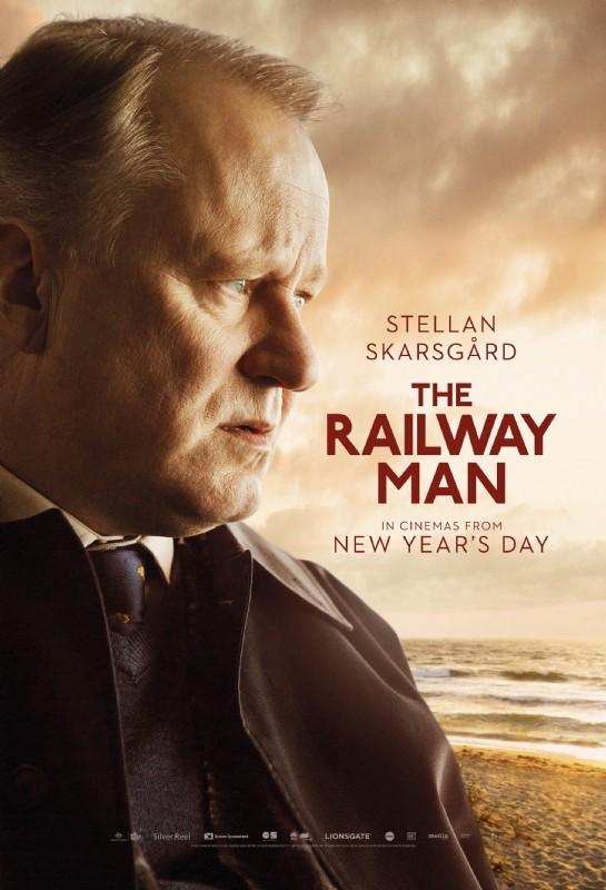 The Railway Man: il character poster di Stellan Skarsgard