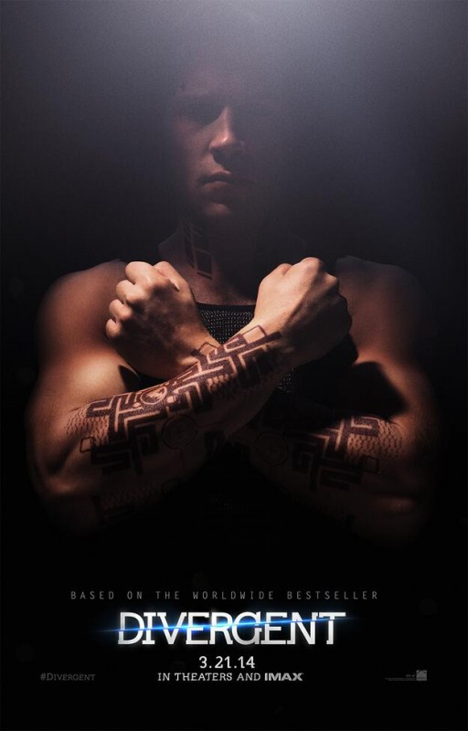 Divergent: il character poster di Jai Courtney