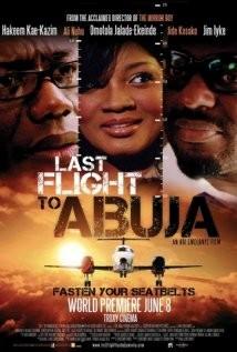 Last Flight to Abuja: la locandina del film