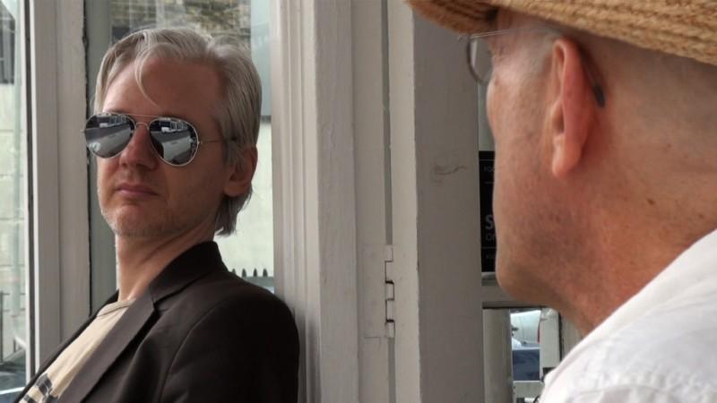 We Steal Secrets: The Story of WikiLeaks - Julian Anssange in un'immagine del documentario