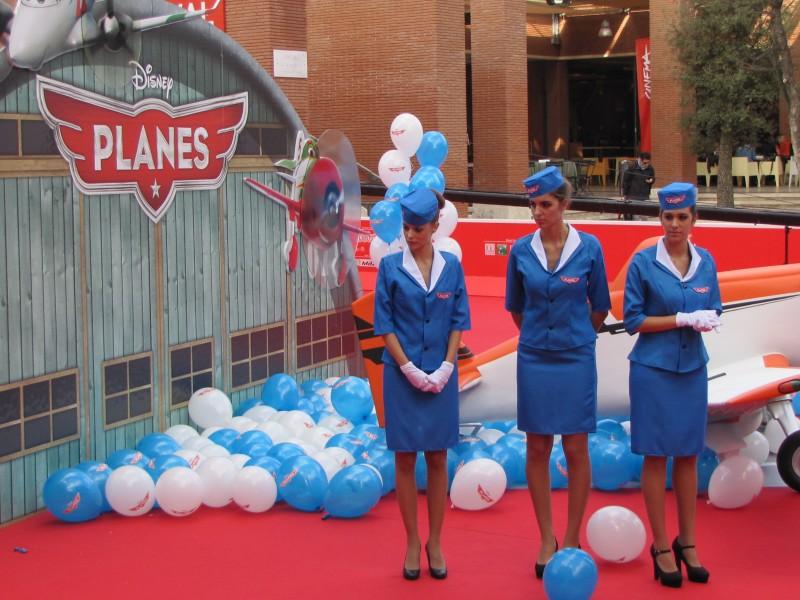 Festival di Roma 2013 - il red carpet di Planes
